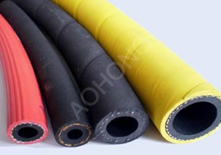 Air/Water Rubber Hoses with Fiber reinforced