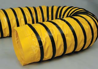 Compressible Portable Flexible ducting